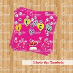 I Love You Tambola valantine's day kitty party games
