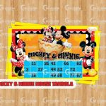 Mickey & Minnie House Tambola