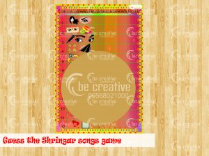 Guess the Shringar Songs Game karwa chauth kitty party