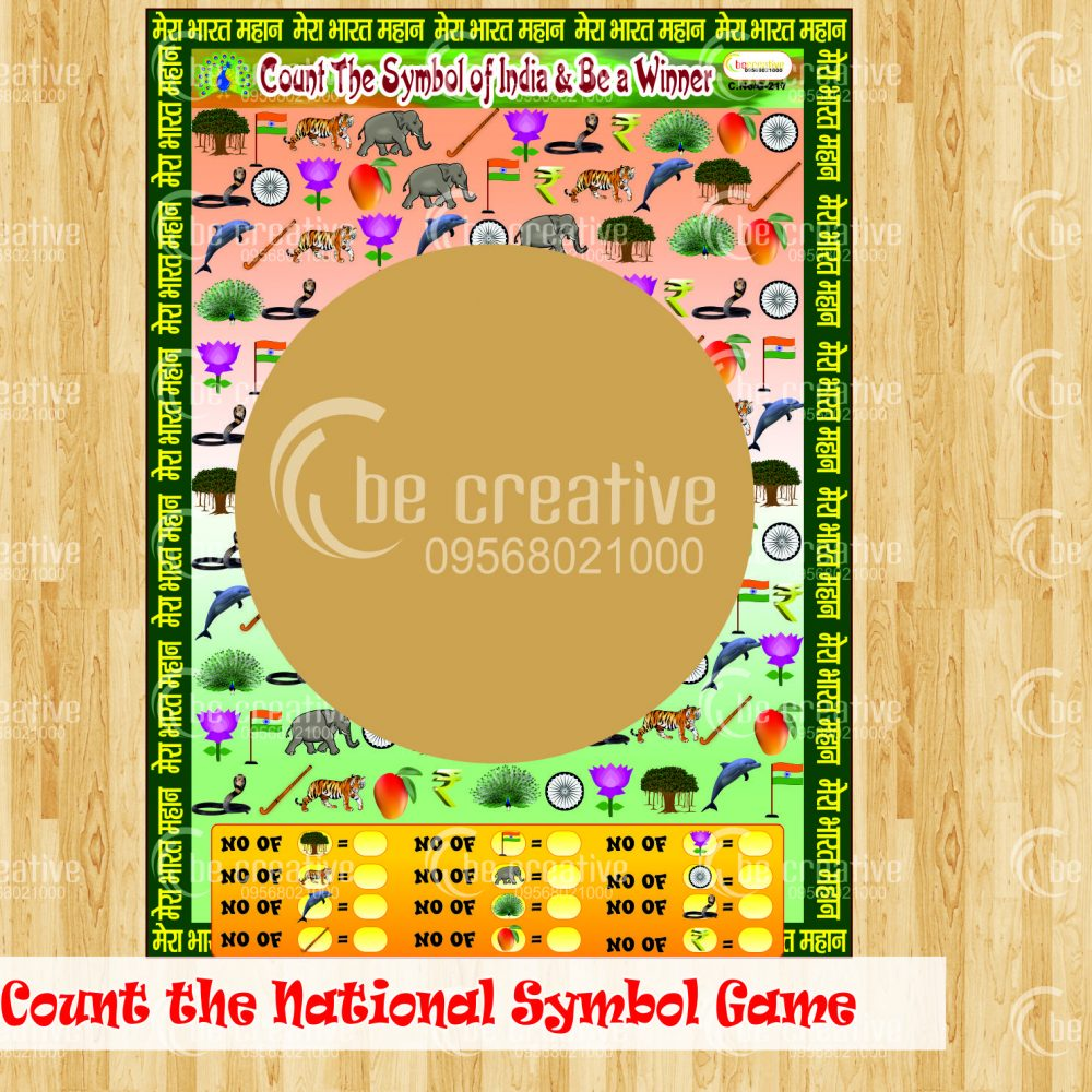 Count the National Symbola of India Game