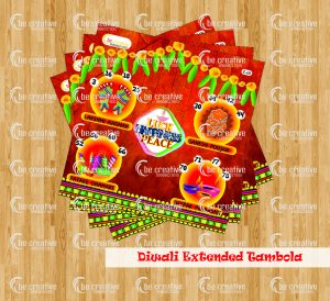 Luck Peace Happiness diwali theme kitty party games