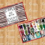 Stripes Go With Everything Table & Wall Decor