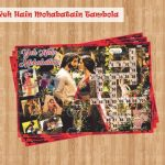yeh hain mohobatain tambola valentine's day kitty party games